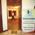Blue Ocean Consultants Patna Press meet Sep 2014