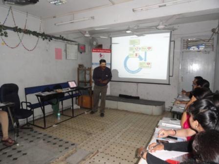 BLS training Dr. Ashish Providing guidance