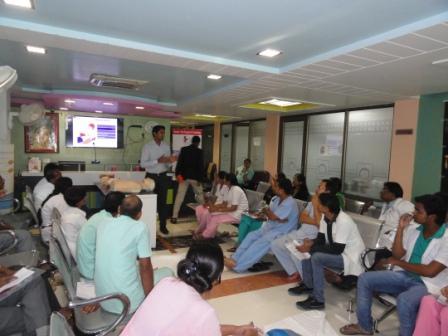 BLS Training Srinivas Hospital