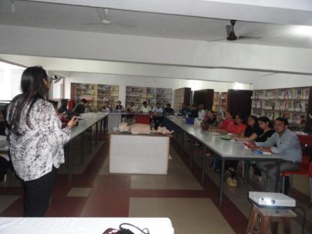 BLS & Disaster Training to school teachers